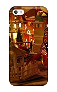 New Style New Fashionable Cover Case Specially Made Case For Sam Sung Note 4 Cover (decorative Christmas Village) 9015454K71029629