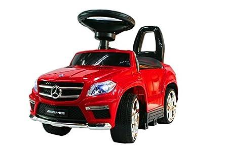 Coche correpasillos infantil, 4 en 1, Mercedes-Benz GL63 AMG (licencia): Amazon.es: Juguetes y juegos
