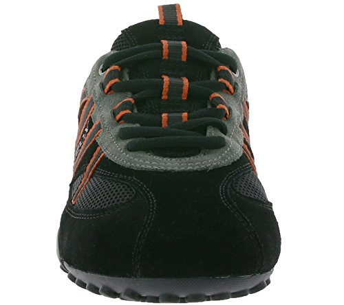 GEOX U Snake S Sneaker Noir Chaussures de Loisirs