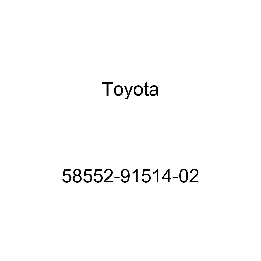 TOYOTA 58552-91514-02 Floor Carpet Assembly