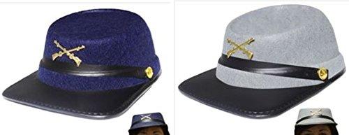 set hats Union Confederate Felt