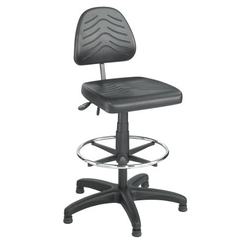 Safco Office Workstation Industrial TaskMaster Deluxe Workbench Height Chair