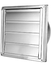 Ventilatierooster, Niunion roestvrijstalen ventilatierooster, rooster, vierkante luchtuitlaat, afzuigkap, ventilatiedeksel