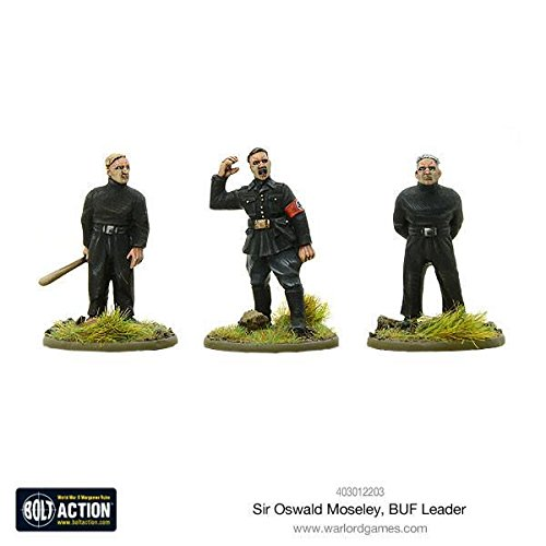 Bolt Action Sir Oswald Mosley Buf Leader Blister - Metal