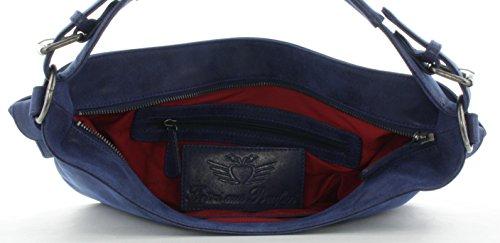Fritzi aus Preußen Isa Vintage Bolso de hombro 32 cm Atlantic