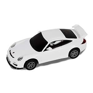 Silverlit 83637 Porsche 1:50, Coche con radiocontrol, mando táctil, color blanco