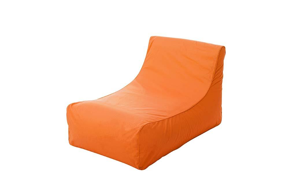 Kiwi 101410Pouf poliestere arancione
