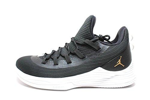 Canada Jordan Ultraflue 2 Lav Menns Basketball-sko Ah8110 Svart / Metallisk Gull-white