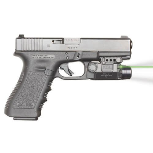 Viridian X5L Green Laser Sight and Tac Light, Universal Rail Mount, ECR Instant-On, Multiple Light Modes by Viridian Weapon Technologies