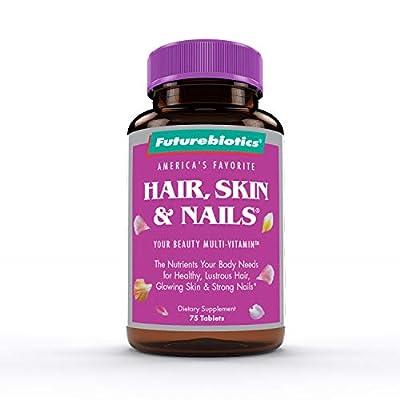 Futurebiotics Hair, Skin, Nails Beauty Multivitamin, 75 Tablets