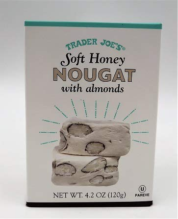 Trader Joe's Soft Honey Nougat with - Nougat Almond
