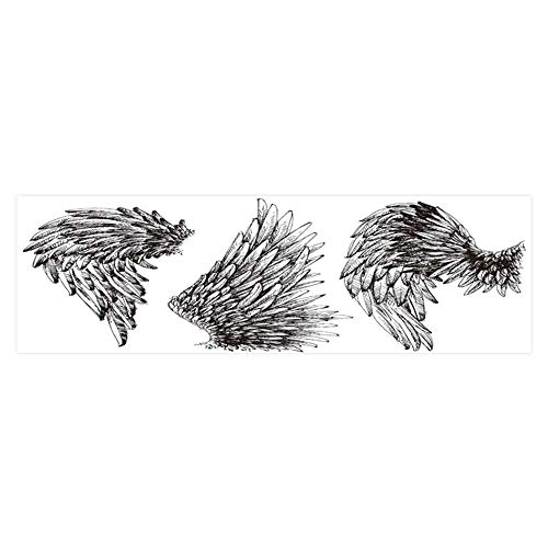 Dragonhome Background Fish Tank Sticker ws Set Drawn Detailed ws Collection PVC Paper Cling Decals Sticker L29.5 x H17.7 ()