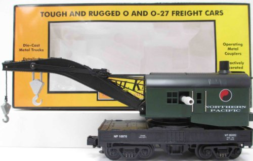 Pacific Operating Crane O Gauge Train (Mth O Gauge Trains)