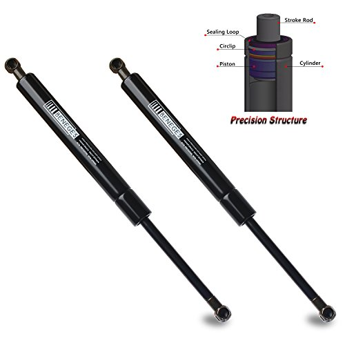 Beneges 2PCs Rear Trunk Lid Struts Compatible with 2001-2006 Lexus LS430 Gas Spring Charged Lift Supports Shocks Dampers 6415, 8196305, 6453050030 -
