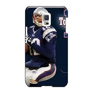 Anti-Scratch Hard Phone Covers For Samsung Galaxy S5 Mini (jLv2508pRak) Custom Trendy New England Patriots Skin