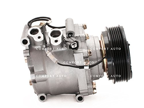 Brand New AC Compressor With Clutch Fits 2001 Honda Civic All models l 2002 Honda Civic 2 door only 1 Year Warranty