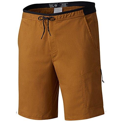 Mountain Hardwear Athletic Shorts - Mountain Hardwear AP Scrambler Short - Men's Golden Brown 32