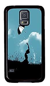 funny Samsung Galaxy S5 case The Night Of Loneliness PC Black Custom Samsung Galaxy S5 Case Cover wangjiang maoyi by lolosakes