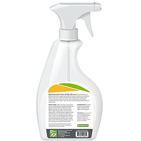 Amazon.com: Sólo Naturales Pet manchas y olor Remover, color ...