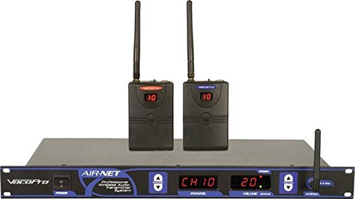 VocoPro AIR-NET Professional Wireless Audio Transmitter System