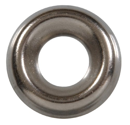 The Hillman Group 2906 Number-8 Stainless Steel Finish Washer, 40-Pack - Stainless Steel Metal Finish