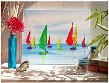 Kreul 504040 Leinwand aus Baumwolle 4 fach grundiert ideal f/ür /Öl- Solo Goya Stretched Canvas Premium Line Keilrahmen 40 x 40 cm in Premiumqualit/ät Acryl- und Gouachefarben