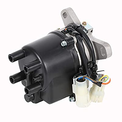 ECCPP Ignition Distributor Fits for Honda Civic Honda CRX 1988-1991 Compatible with OE: DST17401 1855011 TD01U: Automotive