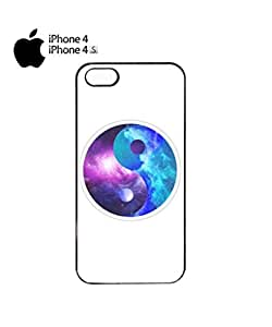 Ying Yang Galaxy Tumblr Mobile Cell Phone Case Cover iPhone 4&4s Black
