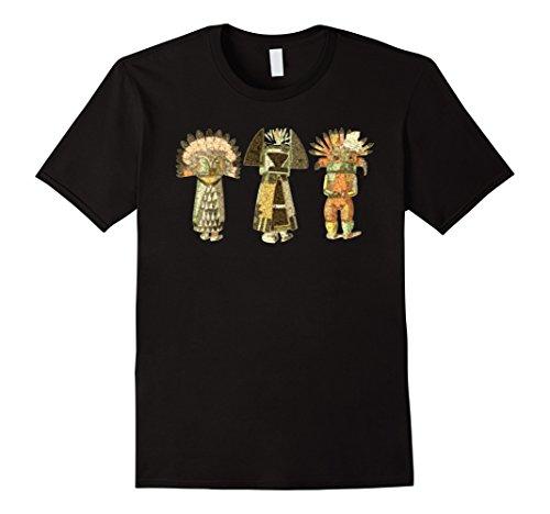 Native American KACHINA DOLLS abstract grunge 2 T-Shirt