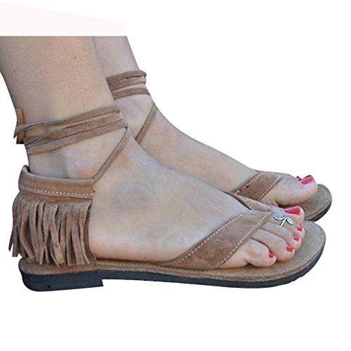 Casual Lace Playa Zapatos Borlas Zapatos Sandalias Jianhui Romanoas Verano Zapatos Flip Moda Verano Sandalias Zapatos Mujeres Casuales Flop De De up Elegant FXxww4qUZ