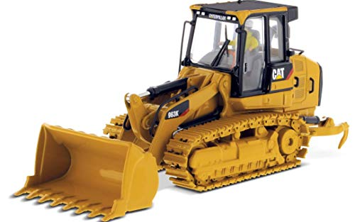 CAT Caterpillar 963K Track Loader with Operator High Line Series 1/50 Diecast Model by Diecast Masters 85572