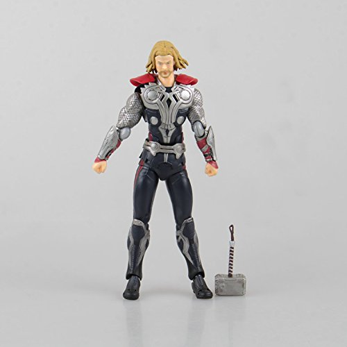 Viet FX Avengers Thor Figma 216 Juguetes PVC Action Figure Thor Hammer Brinquedos Collectible Model Kids Toys Doll Figurine