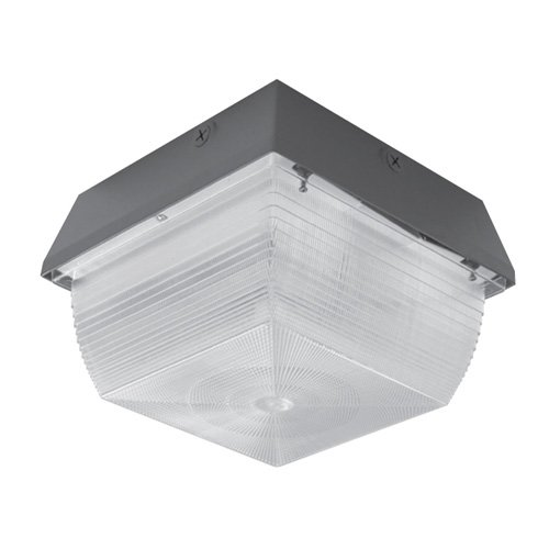 Metal Halide 120v Wall Mount (Hubbell Outdoor Lighting S12-150P 150-Watt Pulse Start Metal Halide Mid-Size Vandal Resistant Ceiling/Wall Mount)