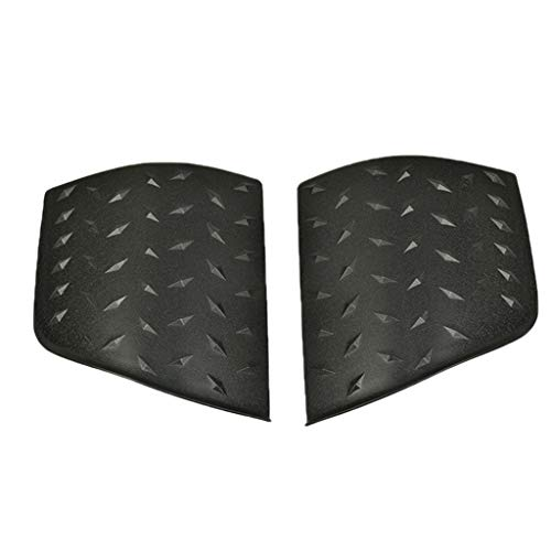 Flameer 2Pcs Car Outer Cowling Cover Engine Hood Armor for Jeep Wrangler TJ 97-06