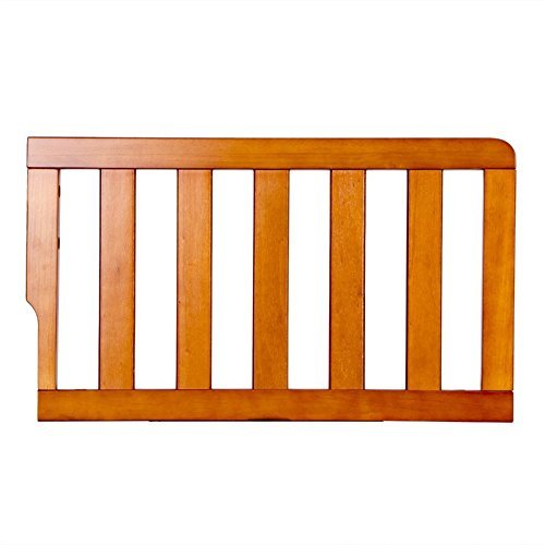 Furniture Pecan Baby (Dream On Me Universal Convertible Crib Toddler Guard Rail, Pecan)