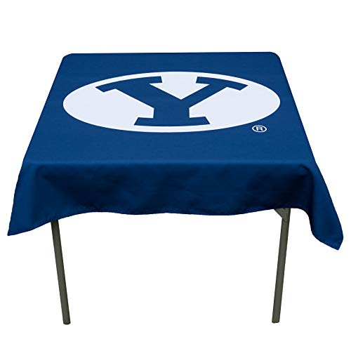 College Flags and Banners Co. Brigham Young Cougars Logo Tablecloth or Table Overlay
