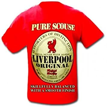 d92001db5 Amazon.com   Liverpool FC Pure Scouse T-Shirt   Sports Fan T Shirts    Sports   Outdoors
