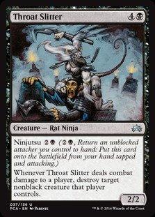 Magic: the Gathering - Throat Slitter (037/156) - Planechase Anthology
