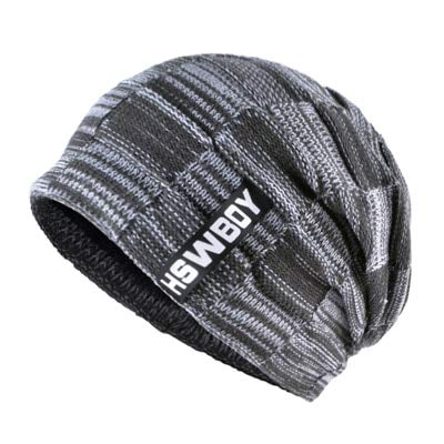 7e80ef3720ca91 World 2 home TQMSMY Brand Bone Men's Winter Hat Knitted Wool Beanies Men Hip -Hop capTurban Caps Skullies Balaclava Hats for Women gorros: Amazon.in: ...