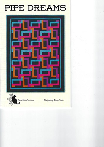 Pipe Dreams Quilt Pattern by Black Cat Creations