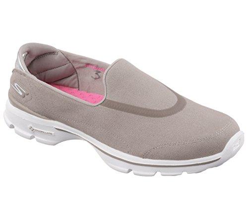 Calzado deportivo para mujer, color Azul , marca SKECHERS, modelo Calzado Deportivo Para Mujer SKECHERS GO WALK 3 Azul marrón
