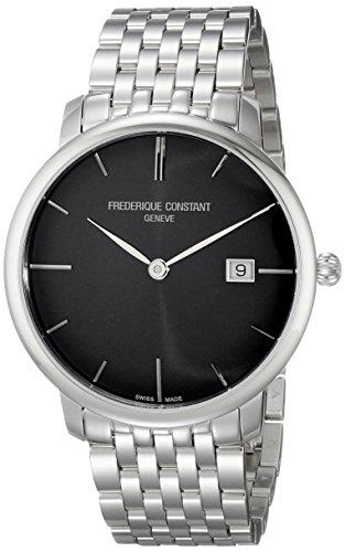 Frederique Constant Men's FC306G4S6B2 Slim Line Automatic Stainless Steel Bracelet Watch - 41Kv XAYl L - Frederique Constant Men's FC306G4S6B2 Slim Line Automatic Stainless Steel Bracelet Watch