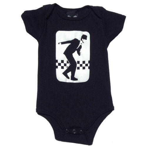 YoungPunks Baby Ska Onesie 6-12 Months - Ska E