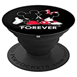 Disney Mickey and Minnie Mouse Silhouettes Forever - PopSockets Grip and Stand for Phones and Tablets