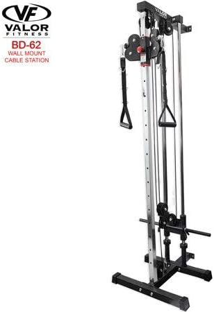 Valor Fitness Bd 62 Wall Mount Cable Station Home Gyms Amazon Canada