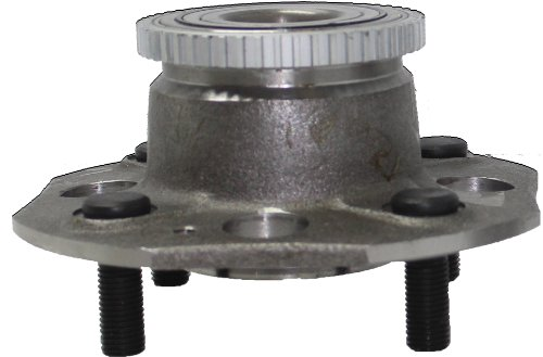 Detroit Axle - Rear Wheel Bearing and Hub Assembly for ABS Disc Brakes 1998-2002 Honda Accord w/4-Cylinder & ABS