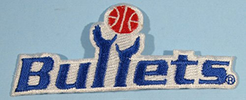Washington Bullets NBA Basketball Embroidered Patch 3.75 inches