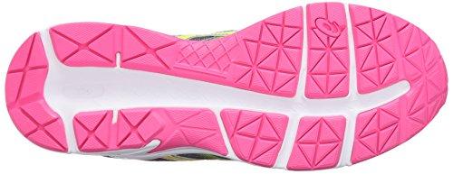 Asics Damesgel-contend 3 Hardloopschoen Staal Grijs / Veiligheidsgeel / Warm Roze