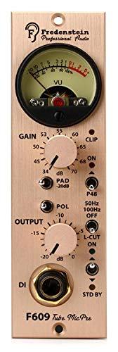 (Fredenstein F609 500 Series Tube Microphone Preamp)
