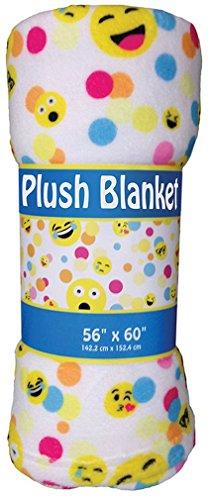 iscream 'Confetti Emojis' Silky Soft Plush 56